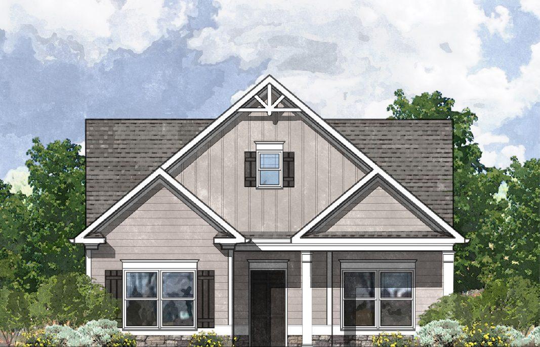 The Ansley Floor Plan: Kerley Family Homes