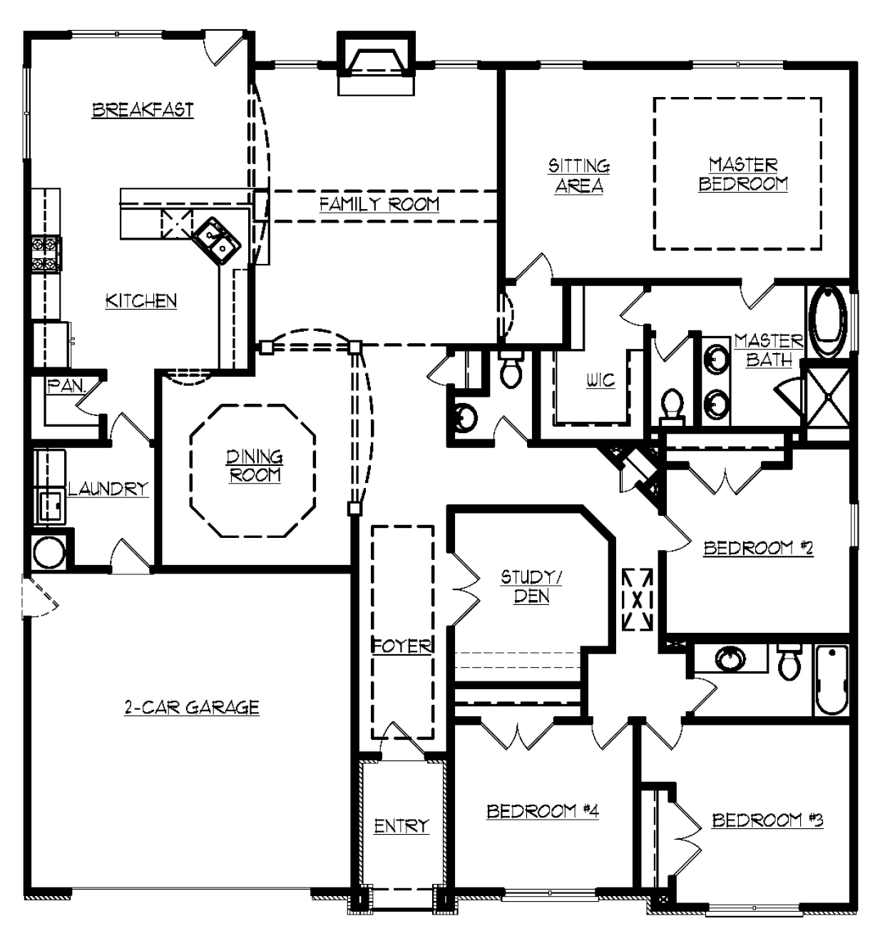 Oxford kerley family homes for Oxford floor plan