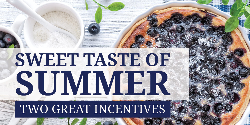 Summer Incentives available for Kerley Family Homes