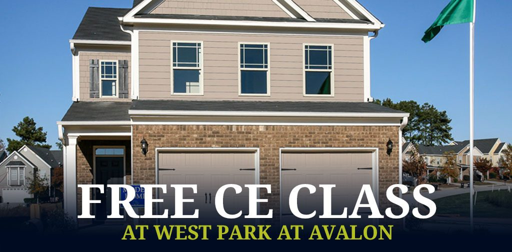 free CE course at West Park at Avalon