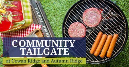 Cowan Ridge community tailgate event in Covington GA