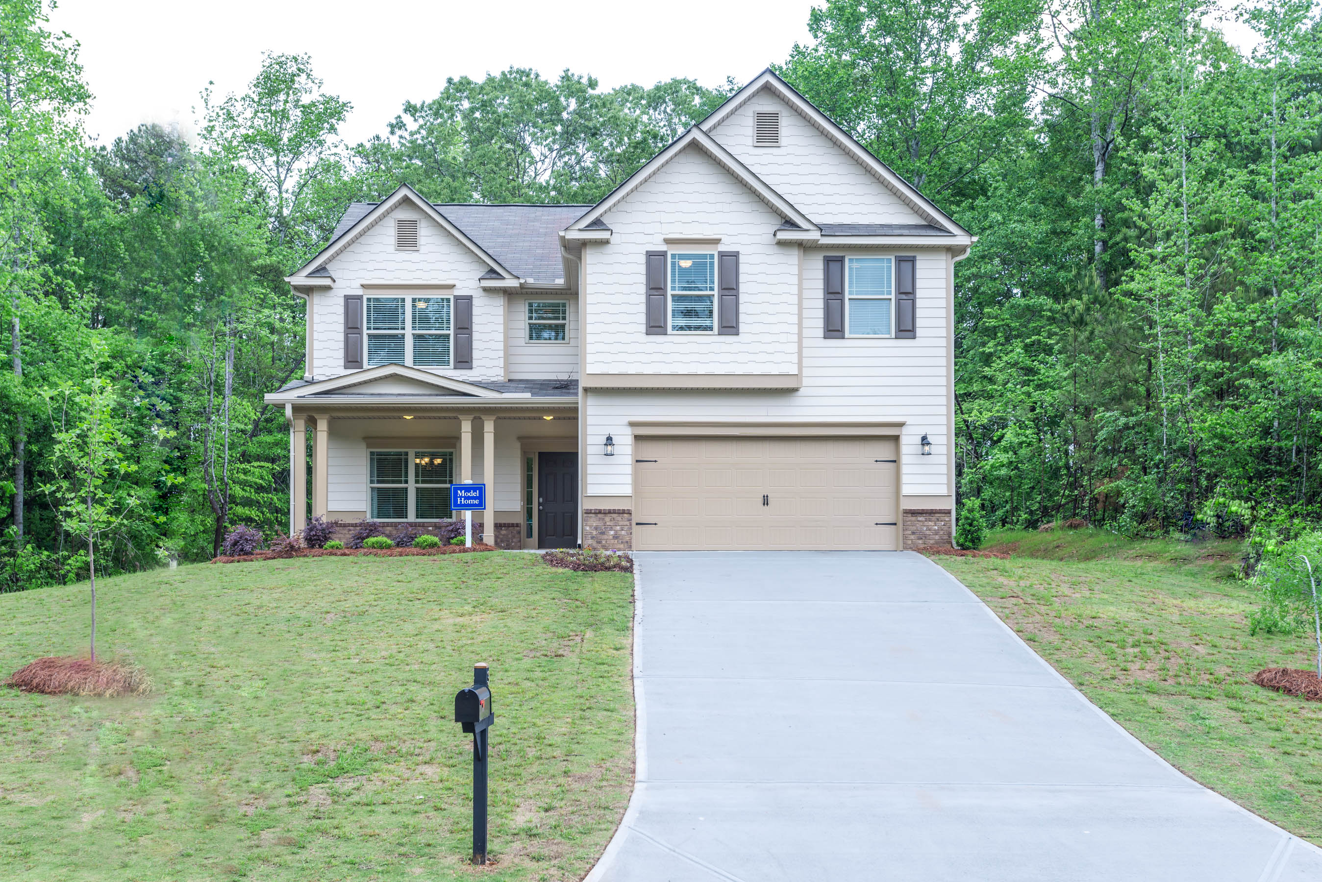 New homes available in hiram at gorham gates kerley for Family home builders