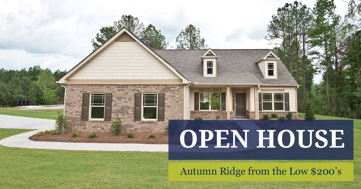 Nice Autumn Ridge Open House