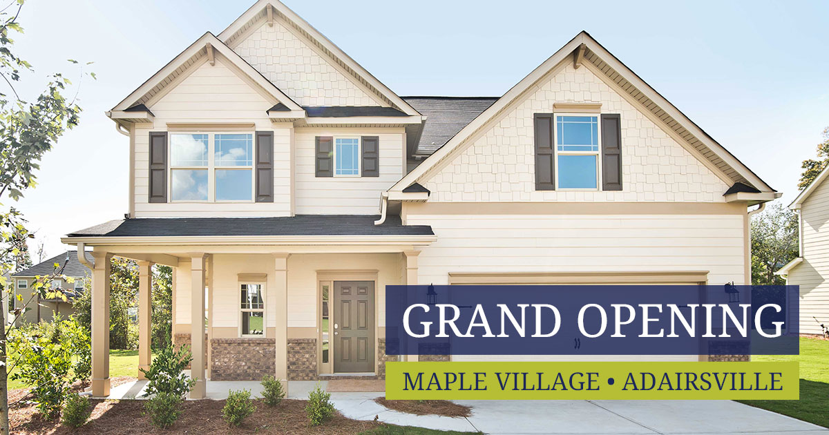 Grand Opening of Maple Village in Adairsville GA