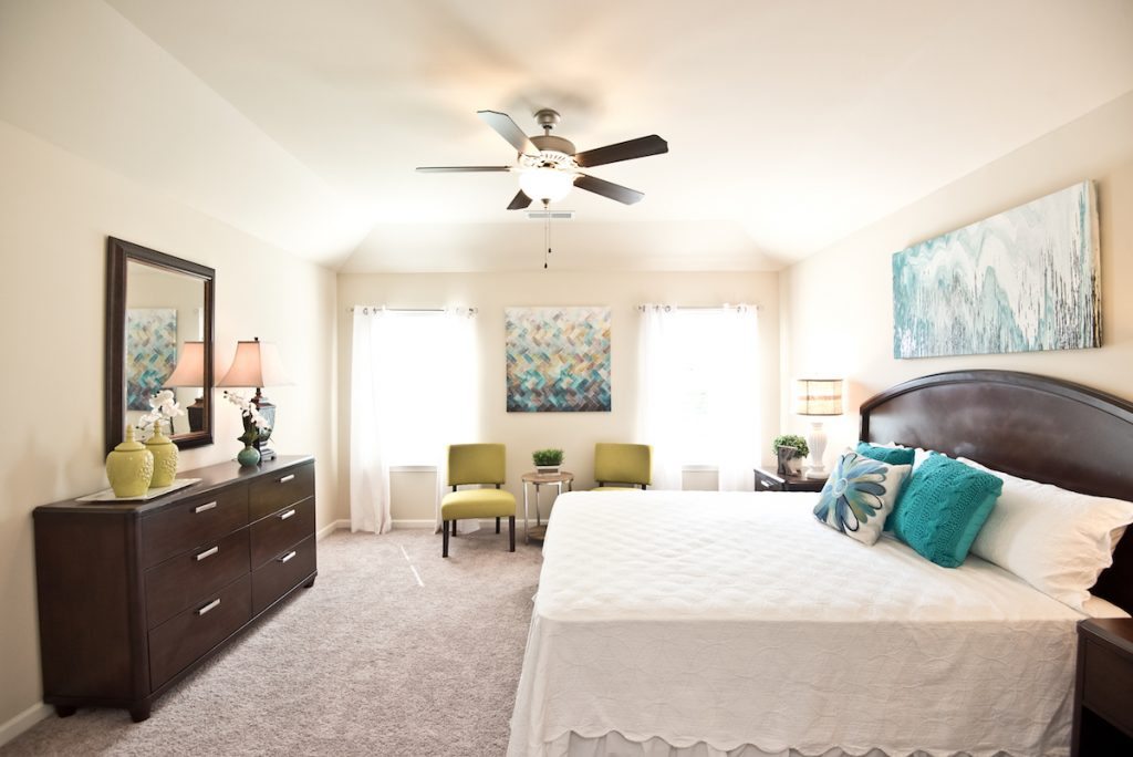 Relaxing Master Suite in Maple Village model home