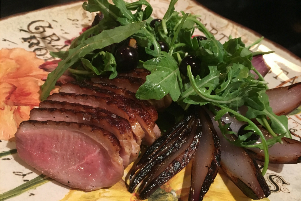 Ramona's Duck Breast Thanksgiving recipe
