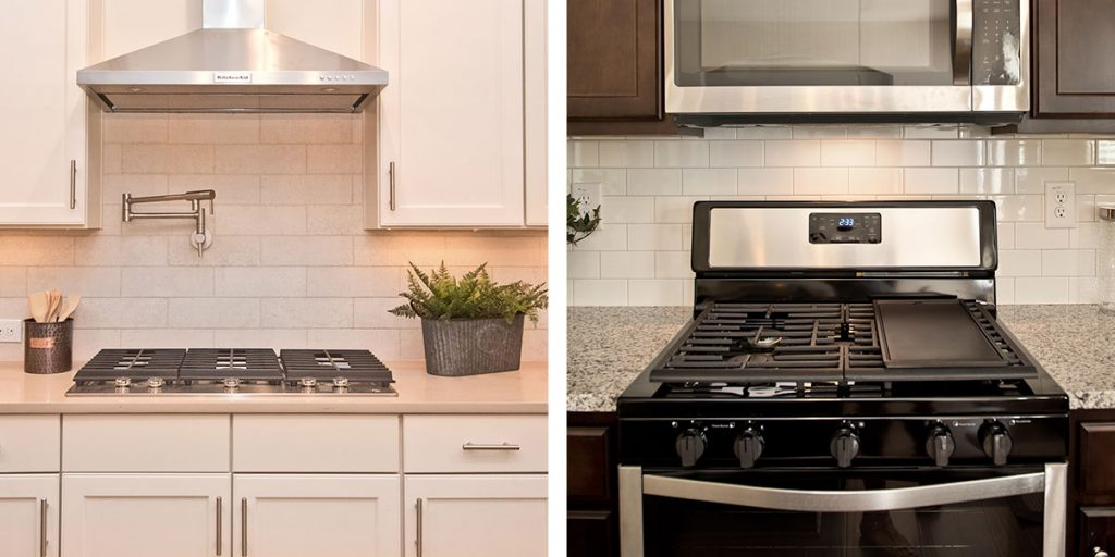 Appliance selections
