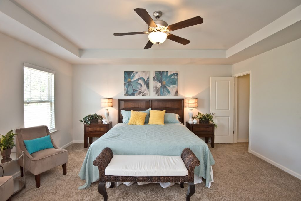 Enclave at Powder Springs townhome master suite