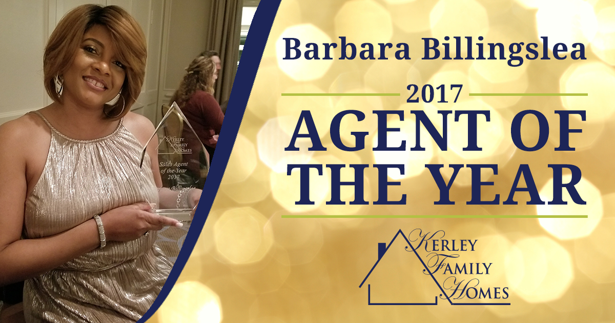 2017 Agent of the Year: Barbara Billingslea