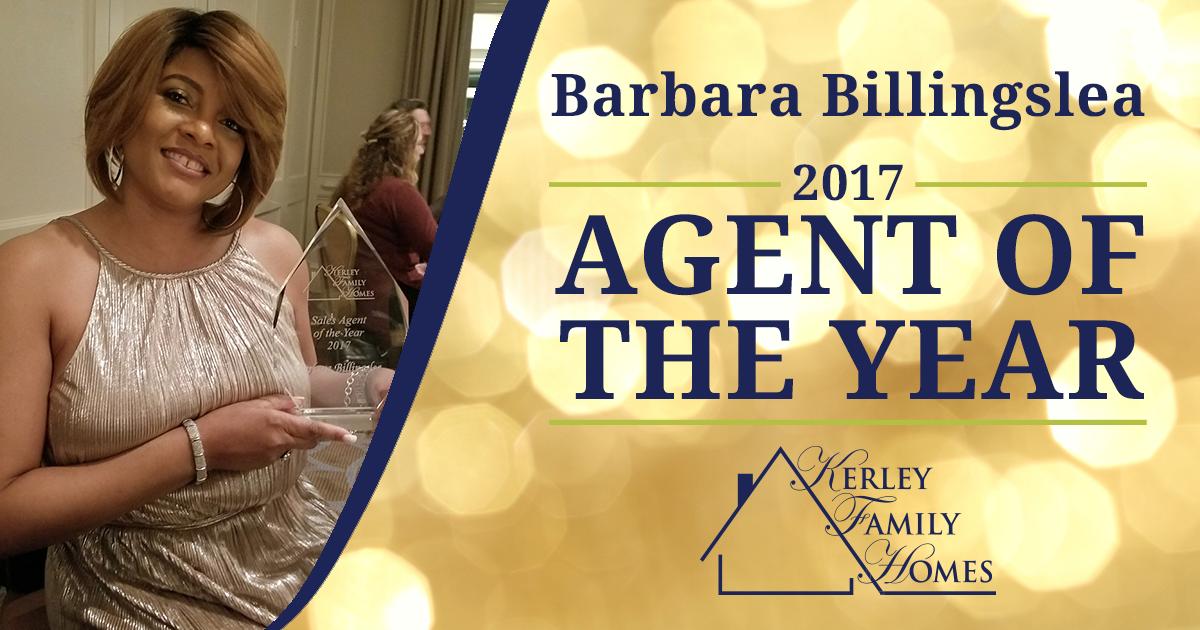 2017 Agent of the Year: Barbara Billingslea