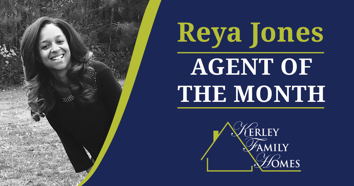 Reya Jones, Kerley Family Home's November Agent of the Month