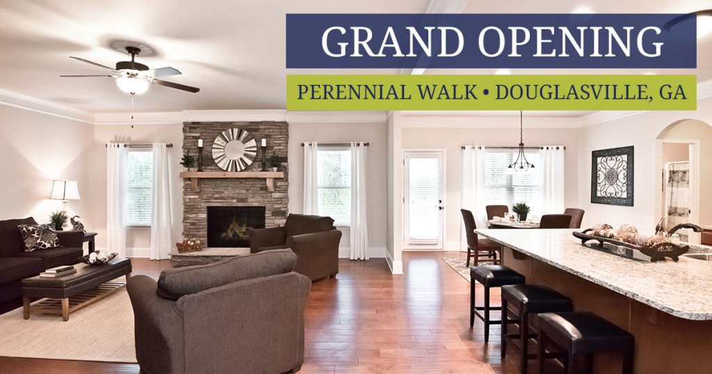 Perennial Walk in Douglasville - Grand Opening phase 2