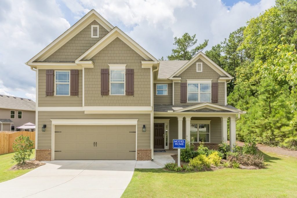 Tour the model home open today at Chaparral Ridge in Douglasville