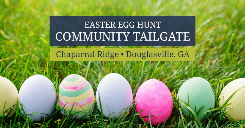 Chaparral Ridge community tailgate and Easter egg hunt