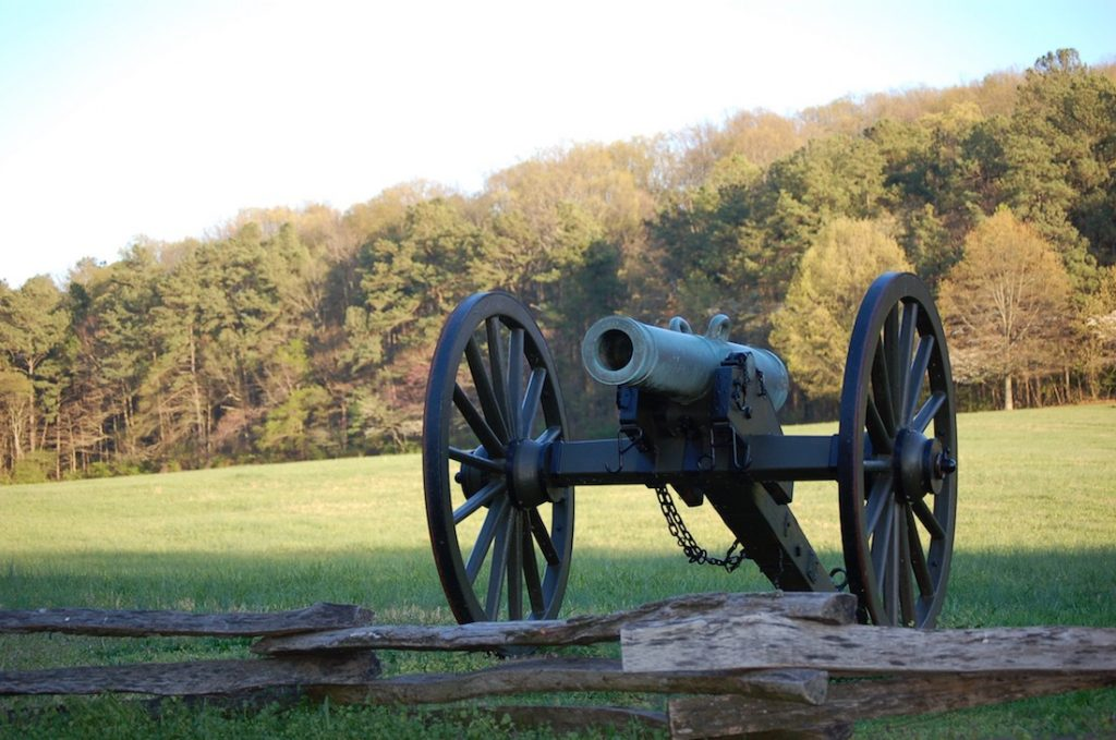 Cannon at Kennesaw National Battlefield Park