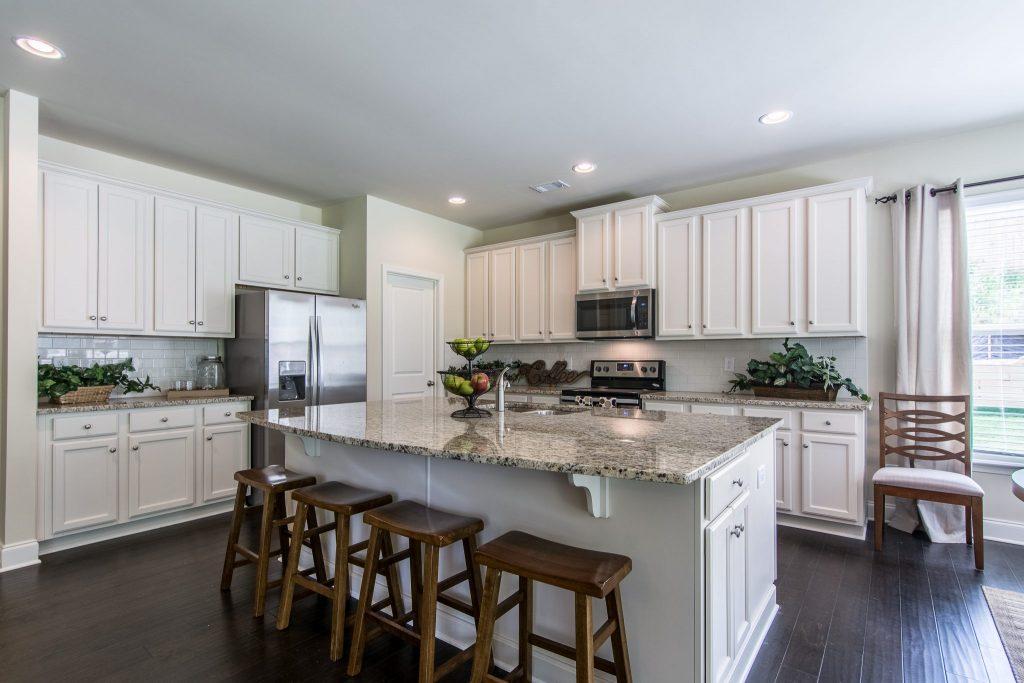Luxury Kitchen with Oversized Island