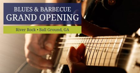 Enjoy Blues and Barbecue - River Rock Model Grand Opening