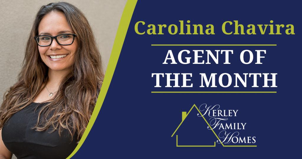 Carolina Chavira - April Agent of the Month - Kerley Family Homes Atlanta
