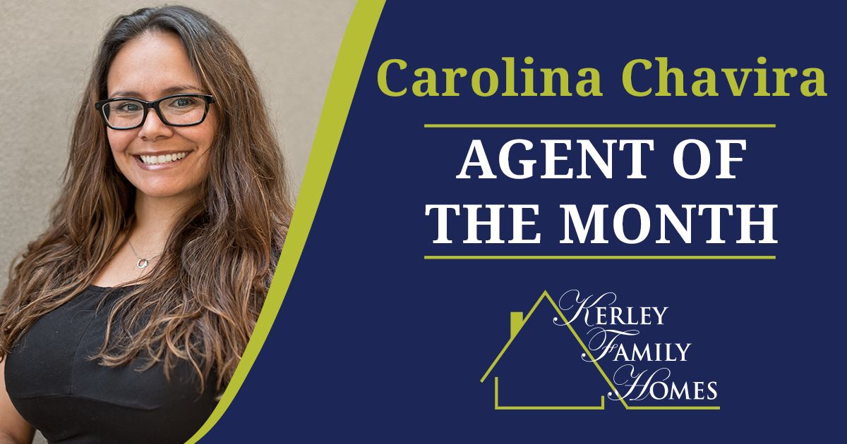 Carolina Chavira - April Agent of the Month - Kerley Family Homes Atlanta
