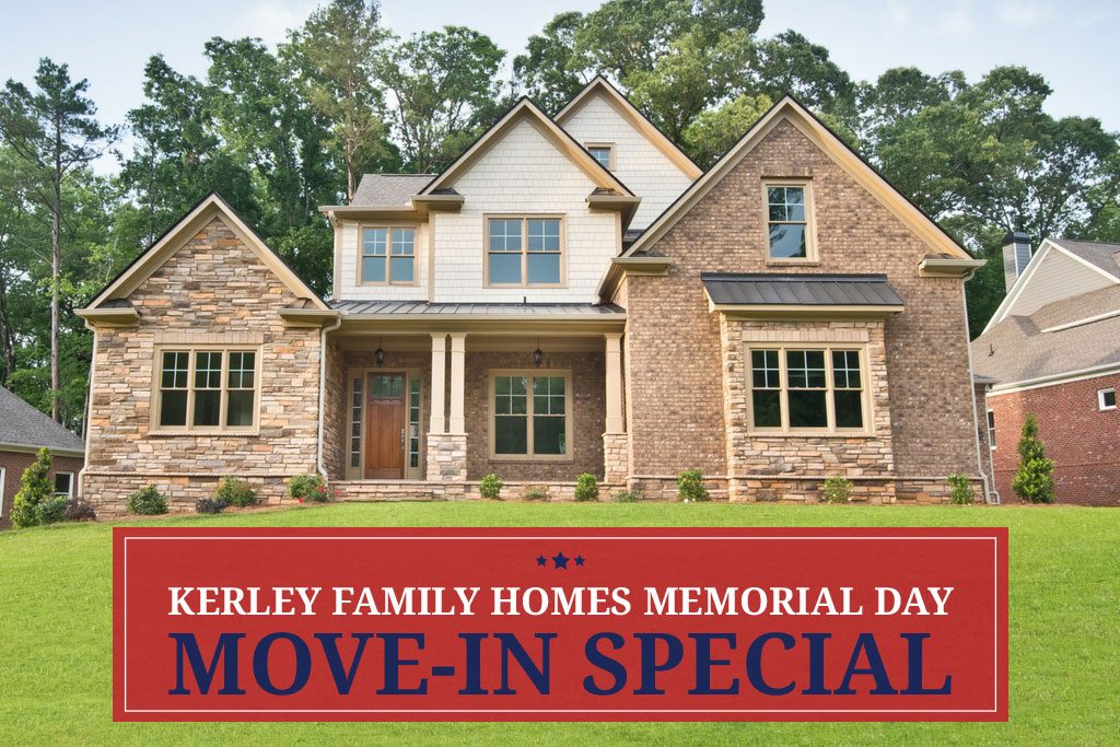 KFh Memorial Day move-in special continues
