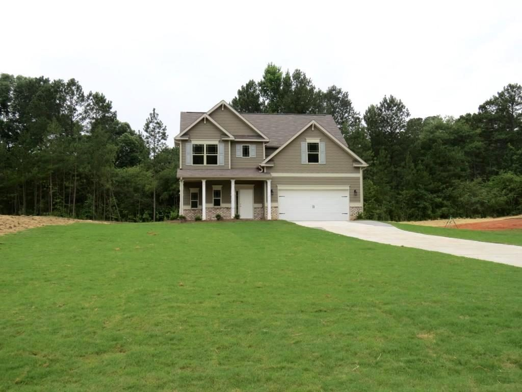This available home at Autumn Ridge features the Magnolia floor plan