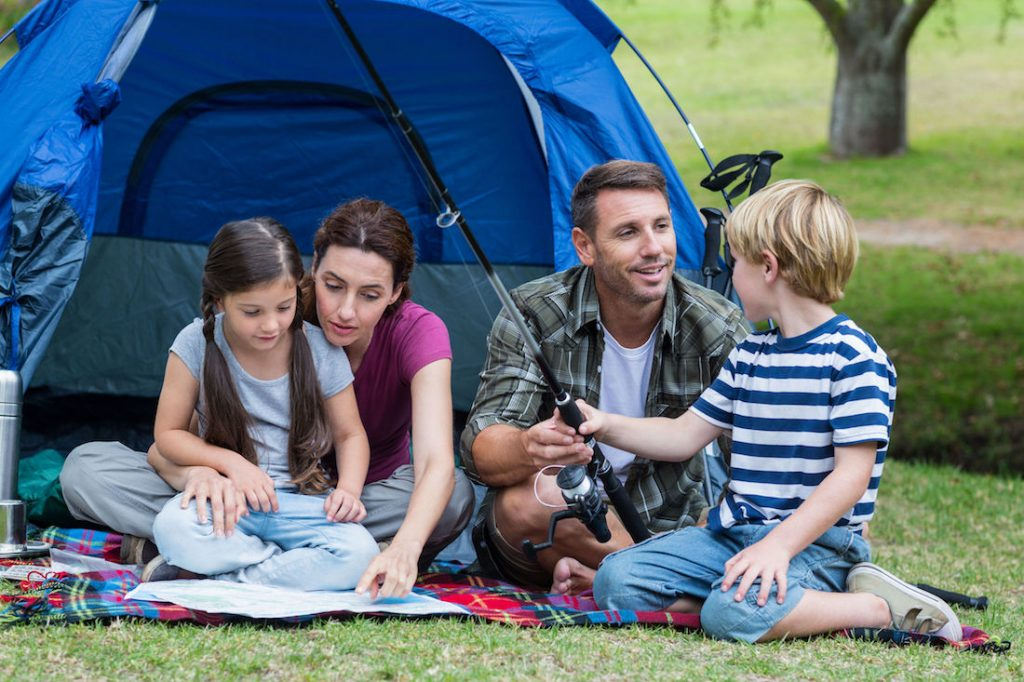 4 family camping trip destinations near Kerley Family Homes communities across Atlanta
