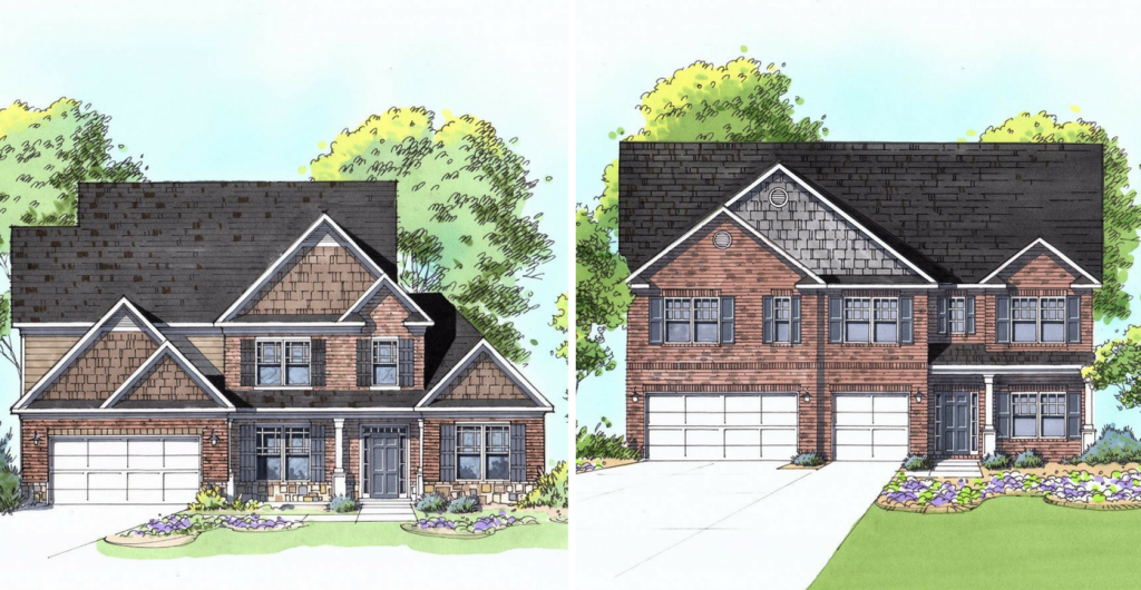 See the available floor plans at our Ozora Lake Grand Opening