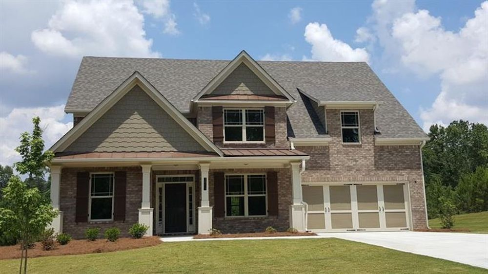 Addison floor plan move-in ready homes at Holly Springs