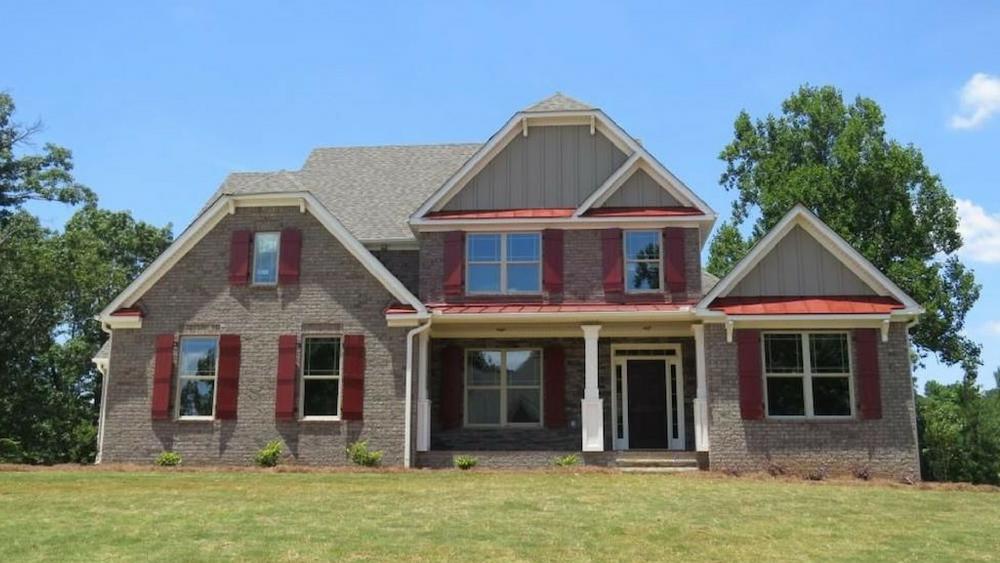 Huntington floor plan on homesite 237 in Holly Springs - Douglasville GA