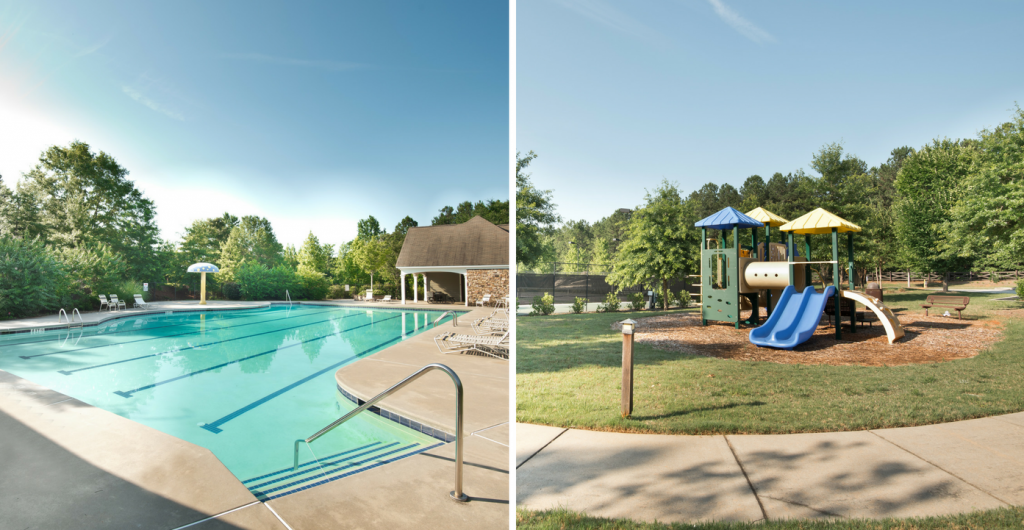 Neighborhood amenities at Ozora Lake in Loganville