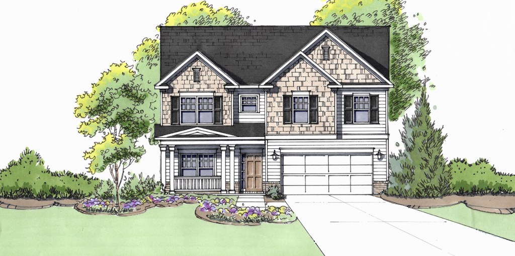 The Chatsworth floor plan awaits you at View at Cedar Mountain