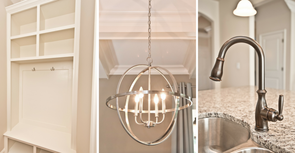 It's all of the details that transform your new house into your dream home.