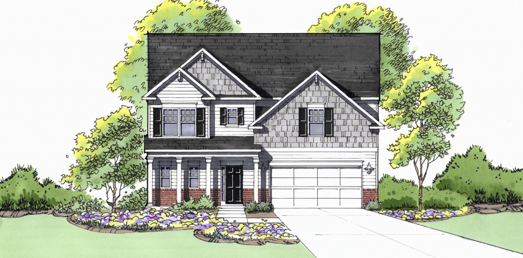 Stunning Magnolia floor plan available at View at Cedar Mountain