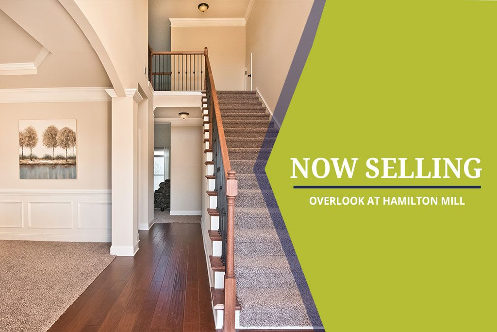 Overlook at Hamilton Mill Now Selling in Hoschton