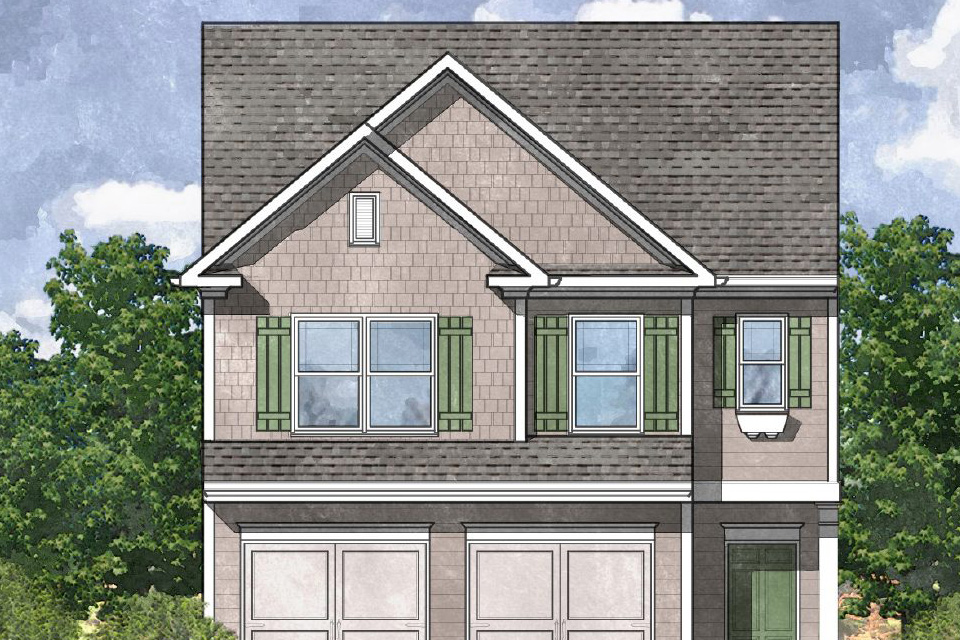 Madeline floor plan available in Villages at West Cobb