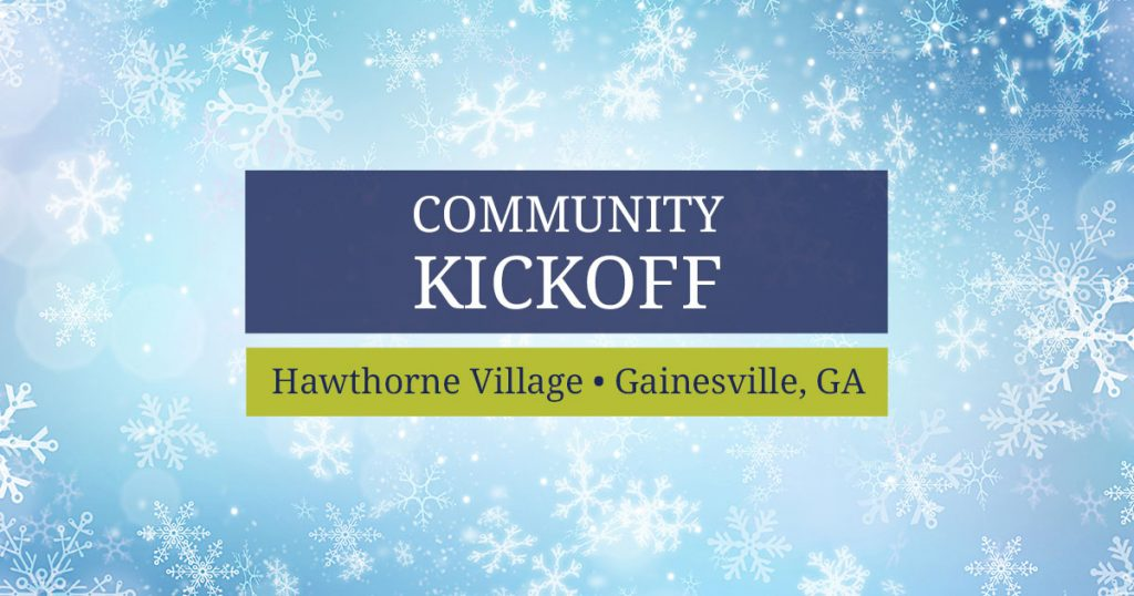 Enjoy a festive start to the holiday season at our Hawthorne Village Community Kickoff.