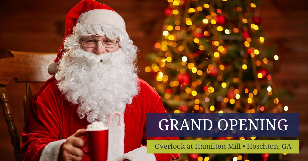 Tour our newly decorated model home during our Overlook at Hamilton Mill Grand Opening.