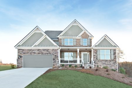 Overlook at Hamilton Mill model home is ready for tours