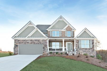 Smart value homes in Overlook at Hamilton Mill