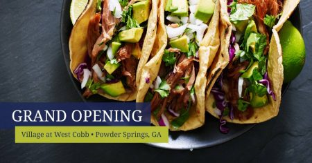 May the fourth fiesta party and grand opening thsi weekend in West Cobb