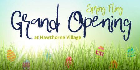 Spring Fling Grand Opening at Hawthorne Village in Gainesville GA