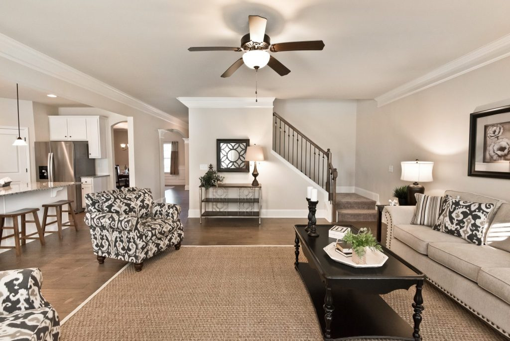 An interior in Ozora Lake - See Kerley Family Homes new home communities