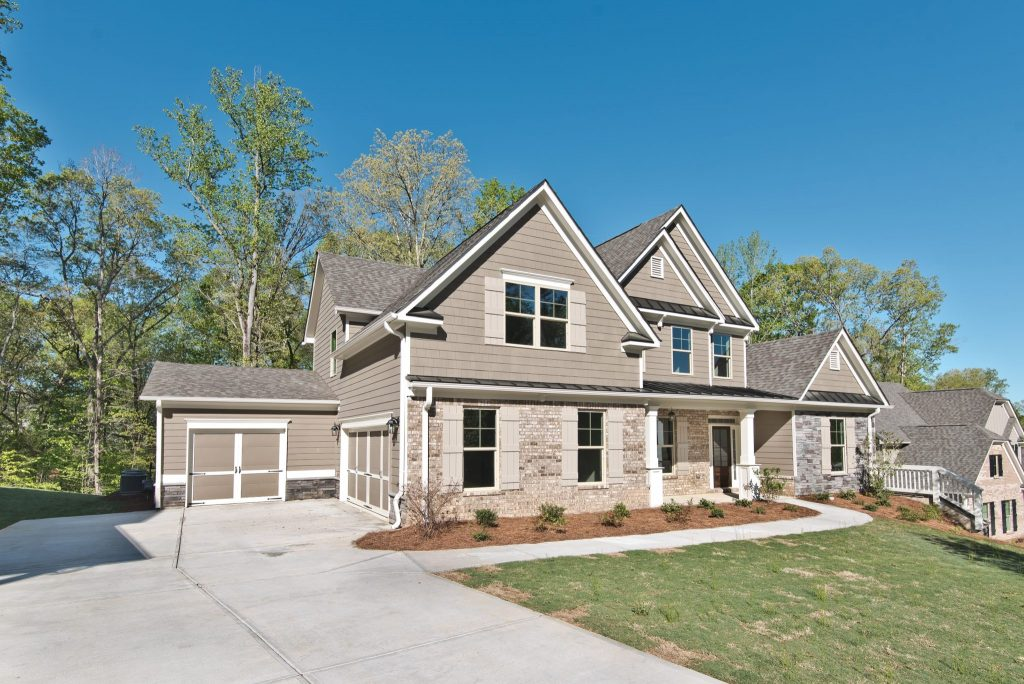 A home in River Rock, near Lake Lanier