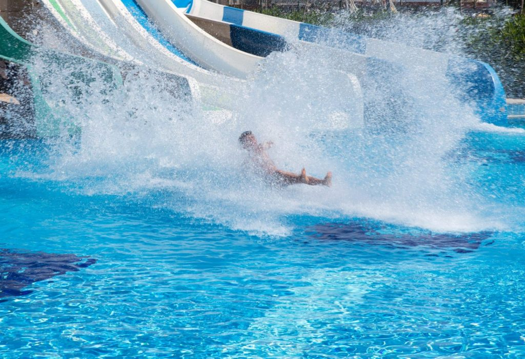 A waterslide at a water park like White Water [Maria Kraynova 123rf]