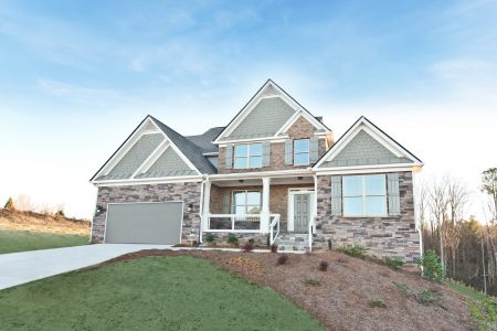 A new home in Overlook at Hamilton Mill
