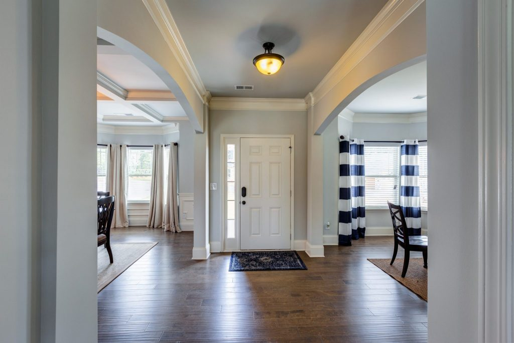 The entryway is an important element of great feng shui in a home.