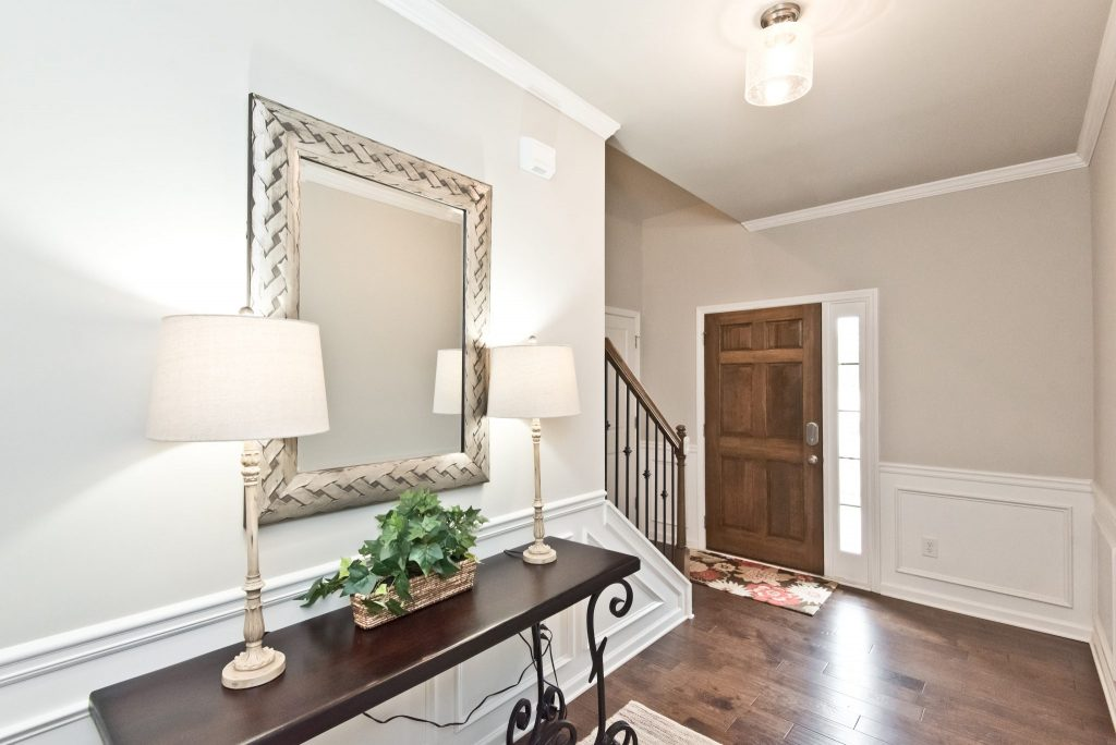 An entryway in Villas at Hickory Grove