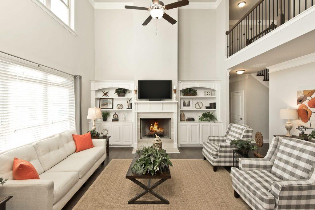 A living room in Hamilton Mill