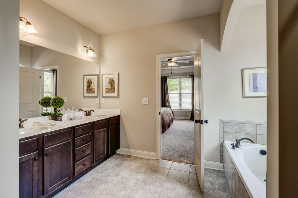 Master Bathrooms you'll love in our new homes - Style Series from Kerley Family Homes of Atlanta