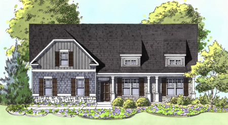 New ranch floor plan available now in River Rock community - Ball Ground, GA
